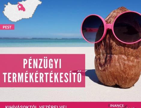 Pénzügyi termékértékesítő - Budaörs
