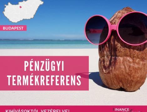 Pénzügyi termékreferens - Budapest  VIII. kerület