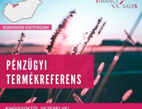 Pénzügyi termékreferens - Esztergom