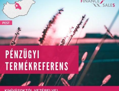 Pénzügyi termékreferens - Budaörs