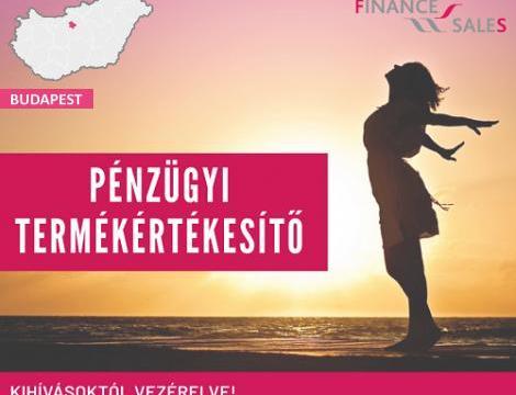 Pénzügyi termékértékesítő - Budapest XV. kerület