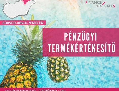 Pénzügyi termékértékesítő - Kazincbarcika