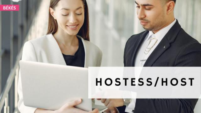 Host/hostess - Békéscsaba