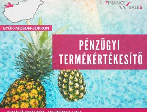 Pénzügyi termékértékesítő - Győr