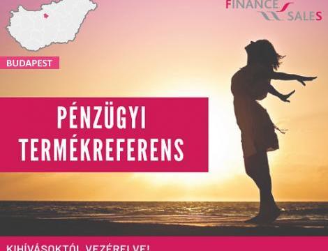 Pénzügyi termékreferens - Budapest XIII. kerület
