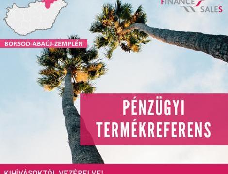Pénzügyi termékreferens - Kazincbarcika