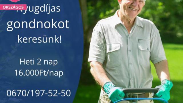Gondnok (Nyugdíjas)