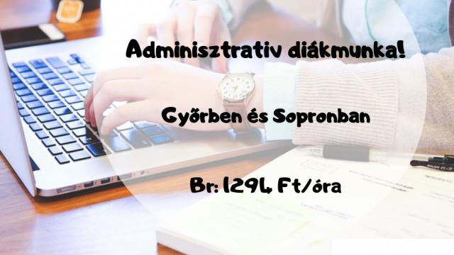 Adminisztratív diákmunka